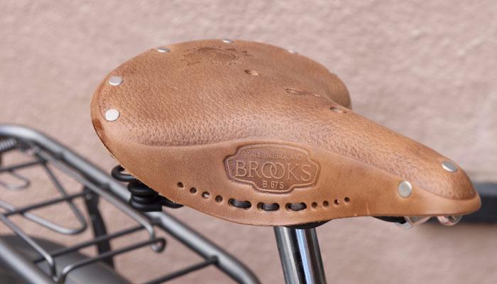 Gazelle Tour Populair Brooks Leather Saddle | The Garage OTR