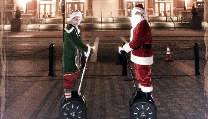 Holiday Segway Tour | The Garage OTR