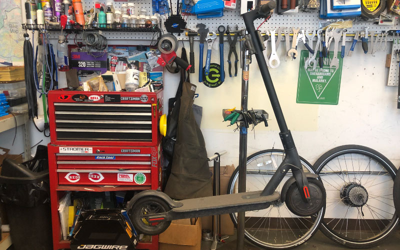 Scooter Service | The Garage OTR