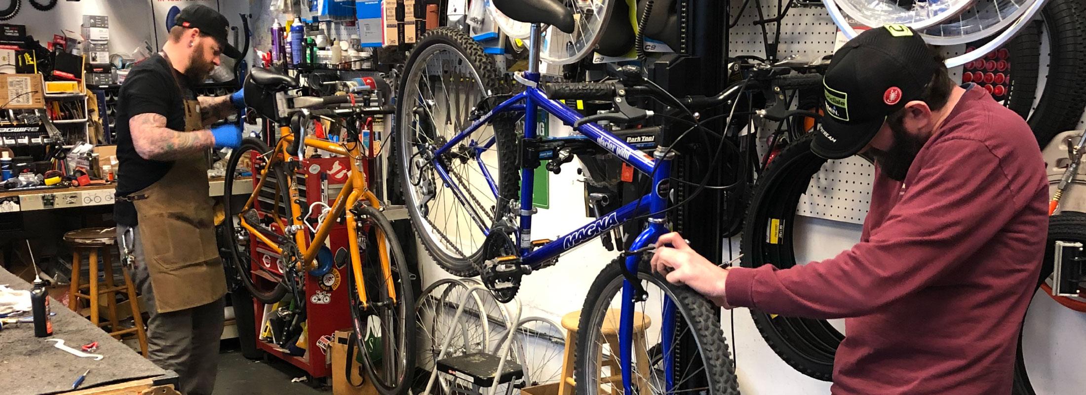 Bicycle Service Hero | The Garage OTR